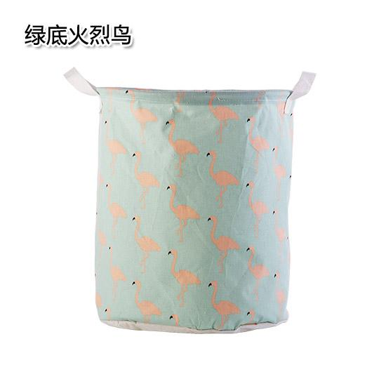 Large Size Foldable Waterproof Laundry Basket Household Cotton Linen Fabric Clothes Toy Storage Basket Dragged Themselves Laundry Basket By Taobao Collection.