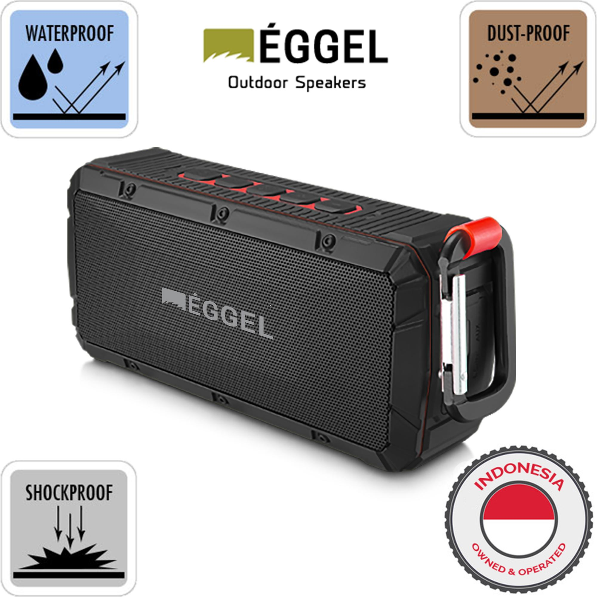 Eggel Terra Waterproof Outdoor Portable Bluetooth Speaker