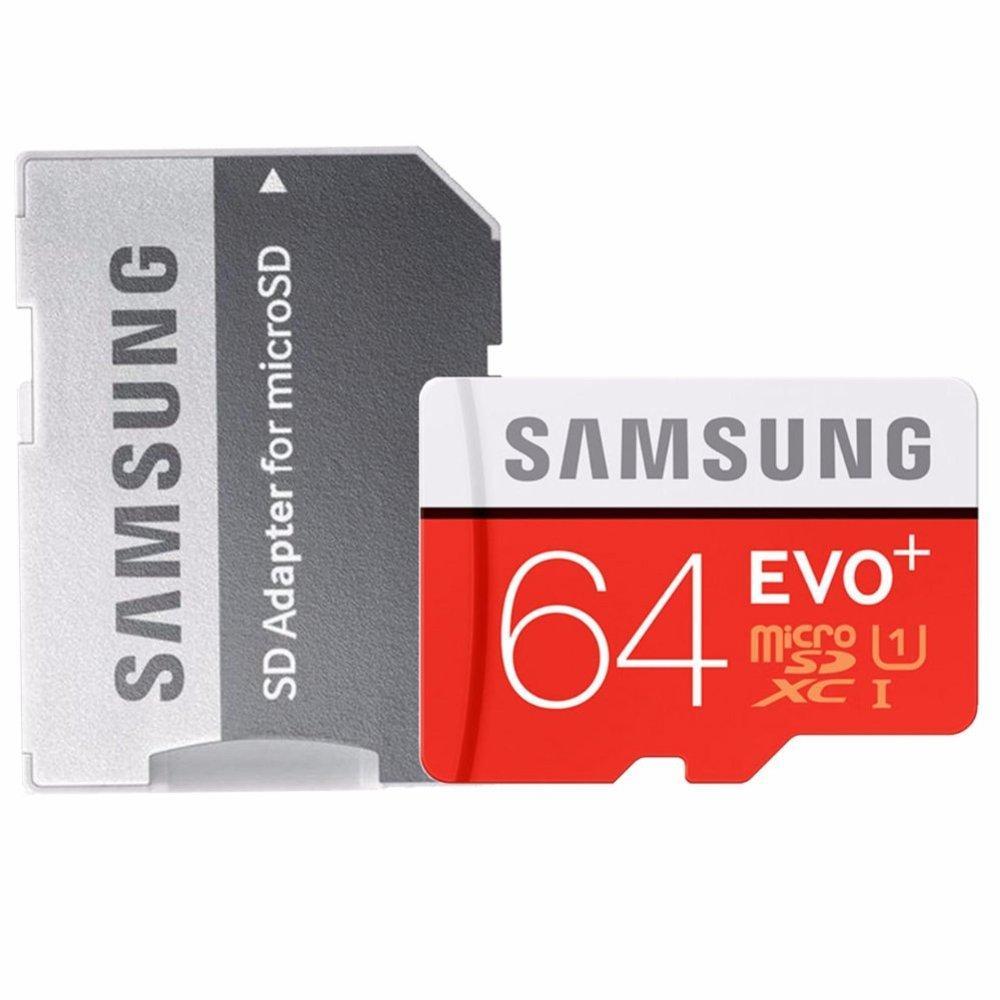 SYF-Shop Samsung Memory Card microSDXC Evo Plus U3 K4 64GB/
