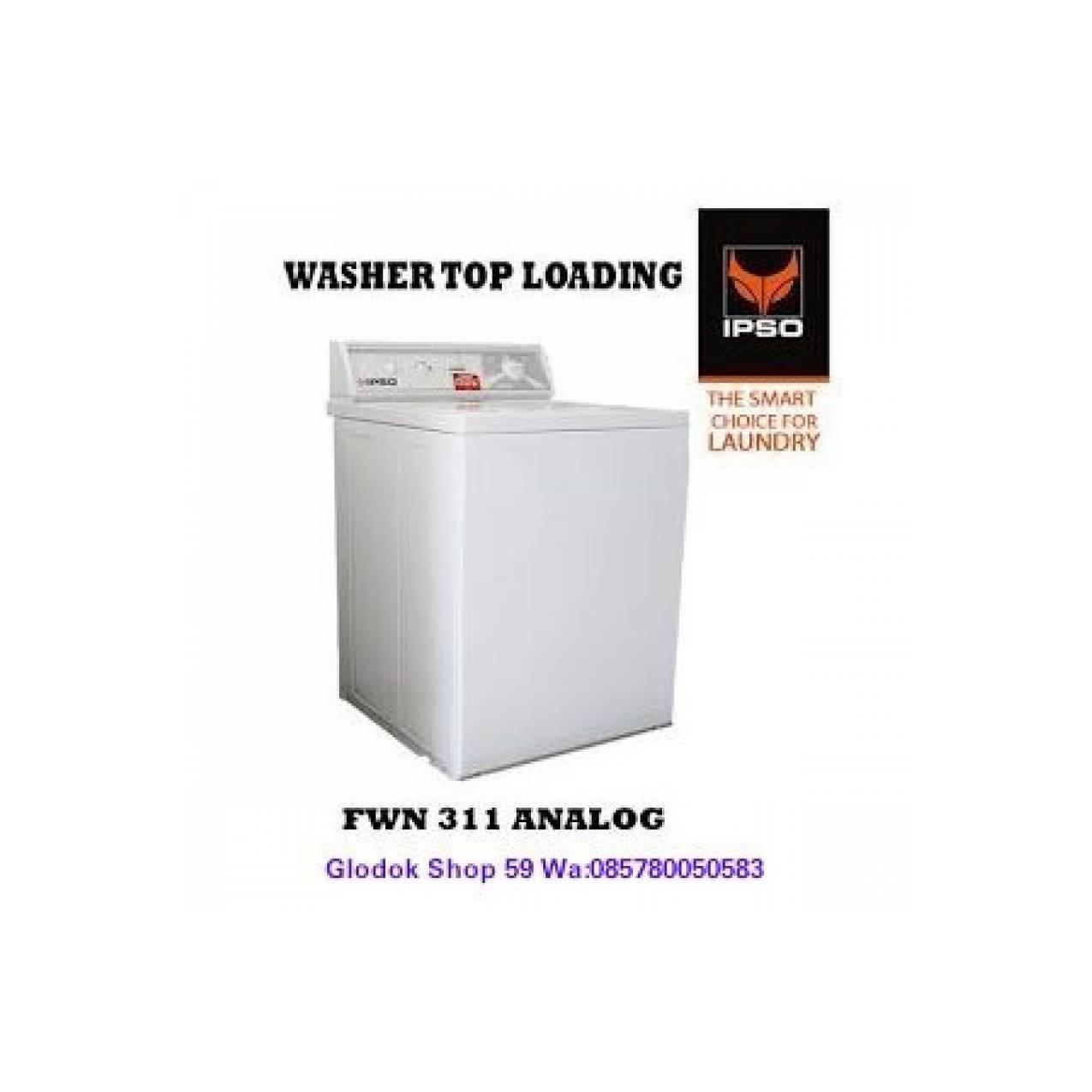 WASHER IPSO FWN311 MESIN CUCI 10.5 KG LAUNDRY EXPRESS NEW