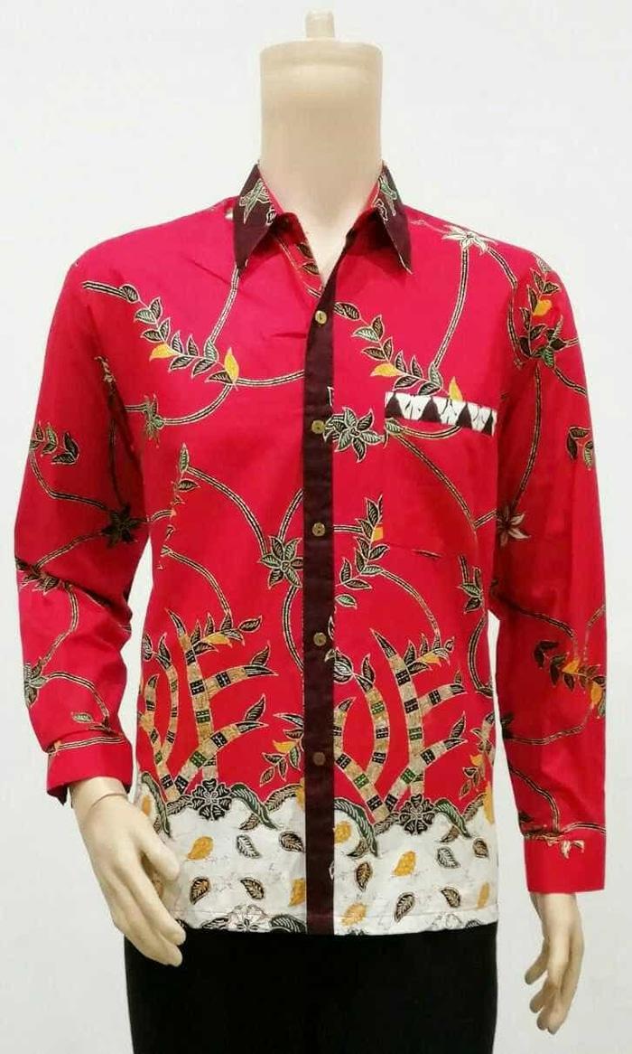 Kemeja Batik Solo. Kemeja Batik Naura Madura Panjang Series