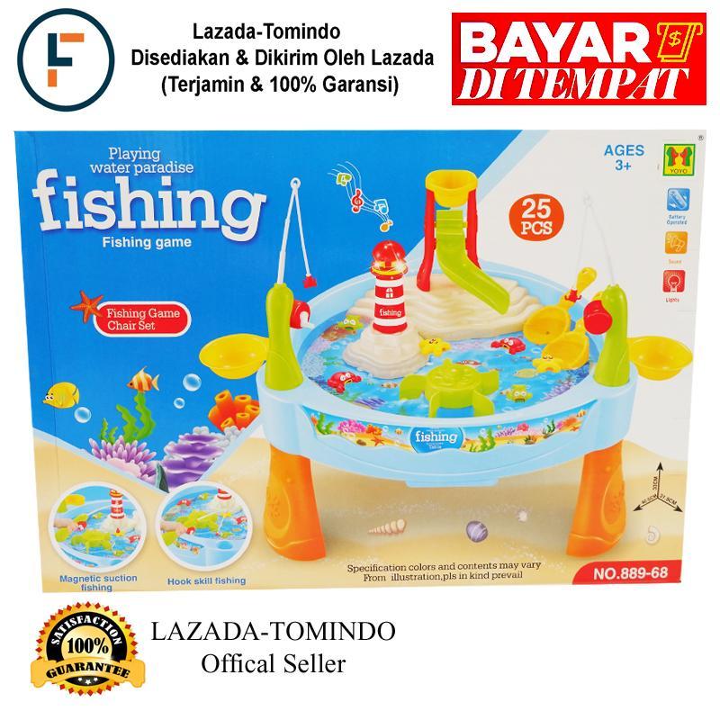Tomindo Fishing Game Water Paradise 889-68 / mainan anak / mainan pancing / mainan pancingan