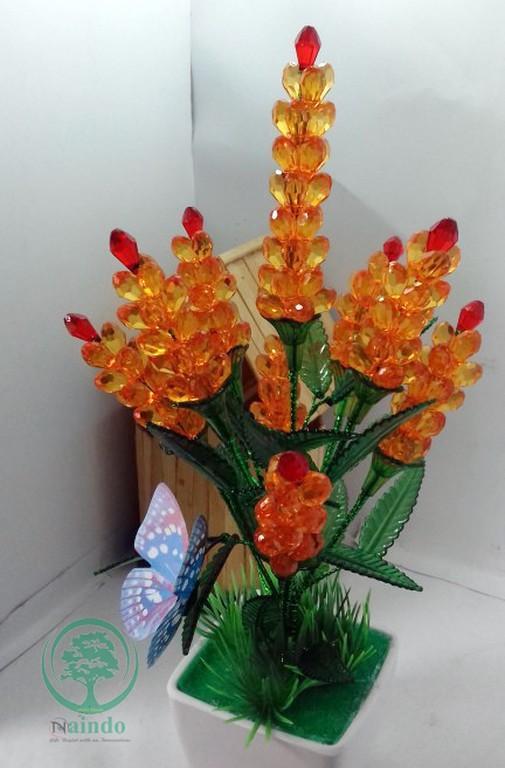 greenleaf-Bunga Akrilik hias -hiasan ruang tamu   kantor-bunga palsu-bunga 5cfafb281a