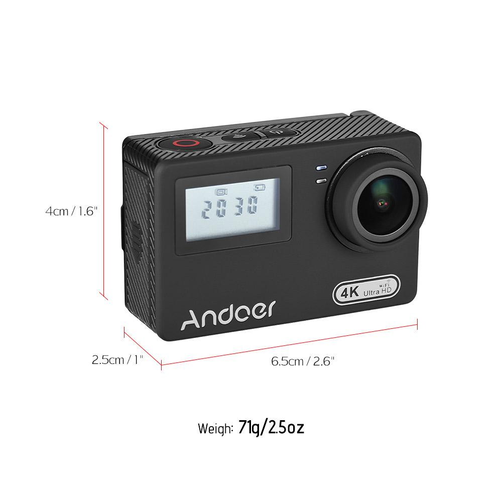 Fitur Kogan Wifi Action Camera 4k Sports Ultra Hd Dv 16mp 30m Kamera Sport Go Pro Andoer An300 3