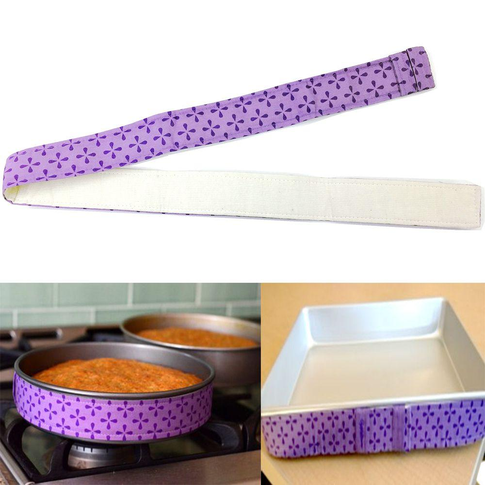 Cake Pan Strips Bake Even Strip Belt Bake Even Bake Moist Level Cakes Baking Tool - Intl By Scotty Dream Paradise.
