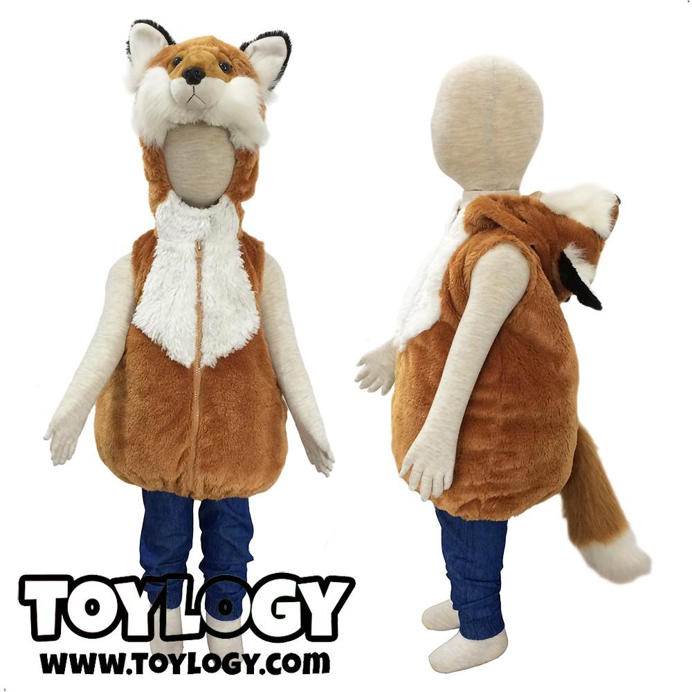 ... Hitam Smart4K Design Ideas Source · Rompi Bulu Karakter Hewan Rubah Merah Vest Red Fox All Size