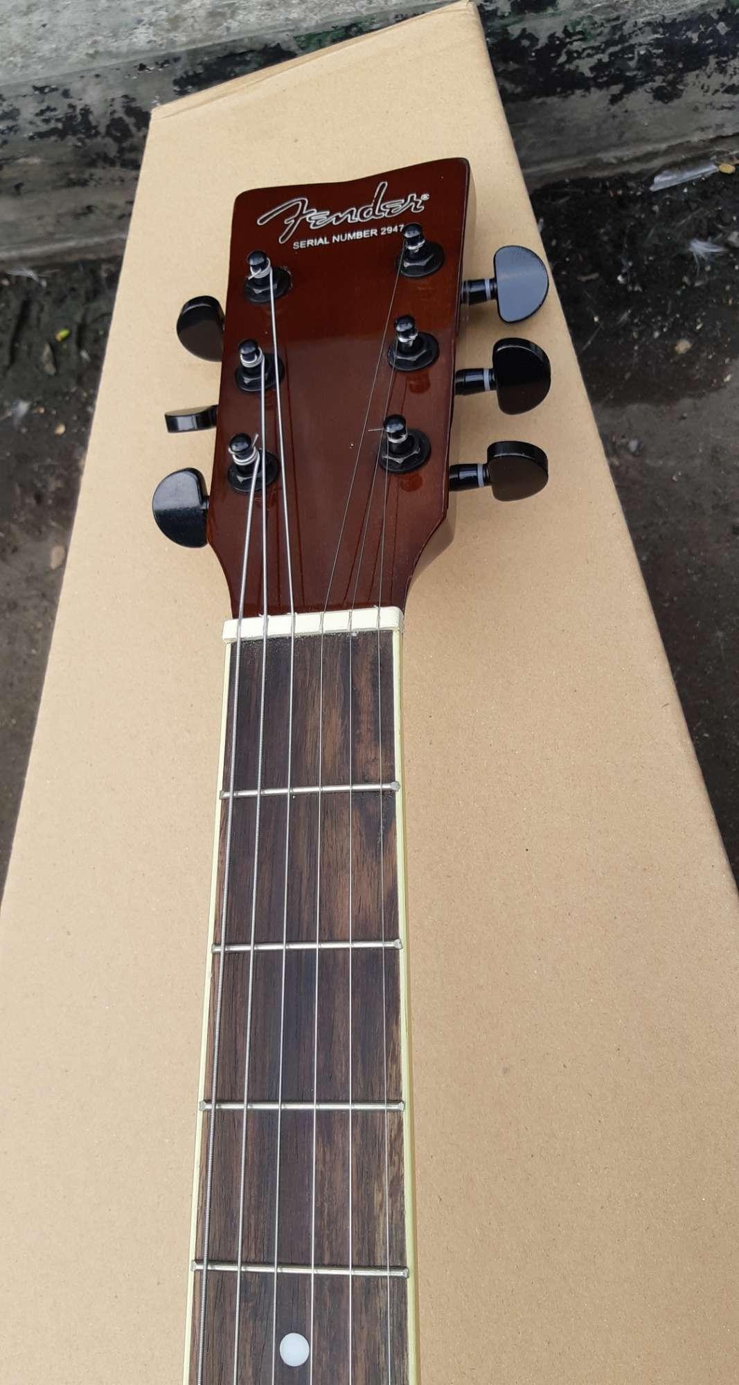 Fitur Gitar Akustik Elektrik Jumbo Top Spruce Custom Free Tas Softcase 3