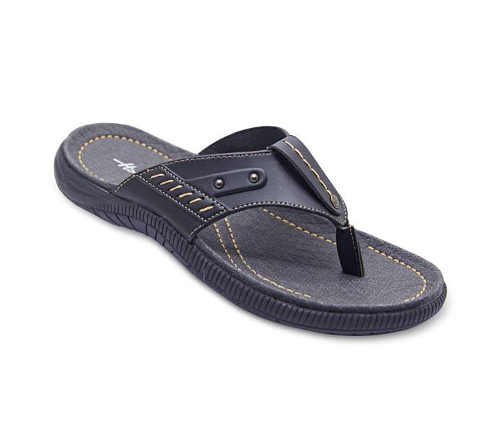 Homyped Sigra 01 Sandal Jepit Casual Pria - Black