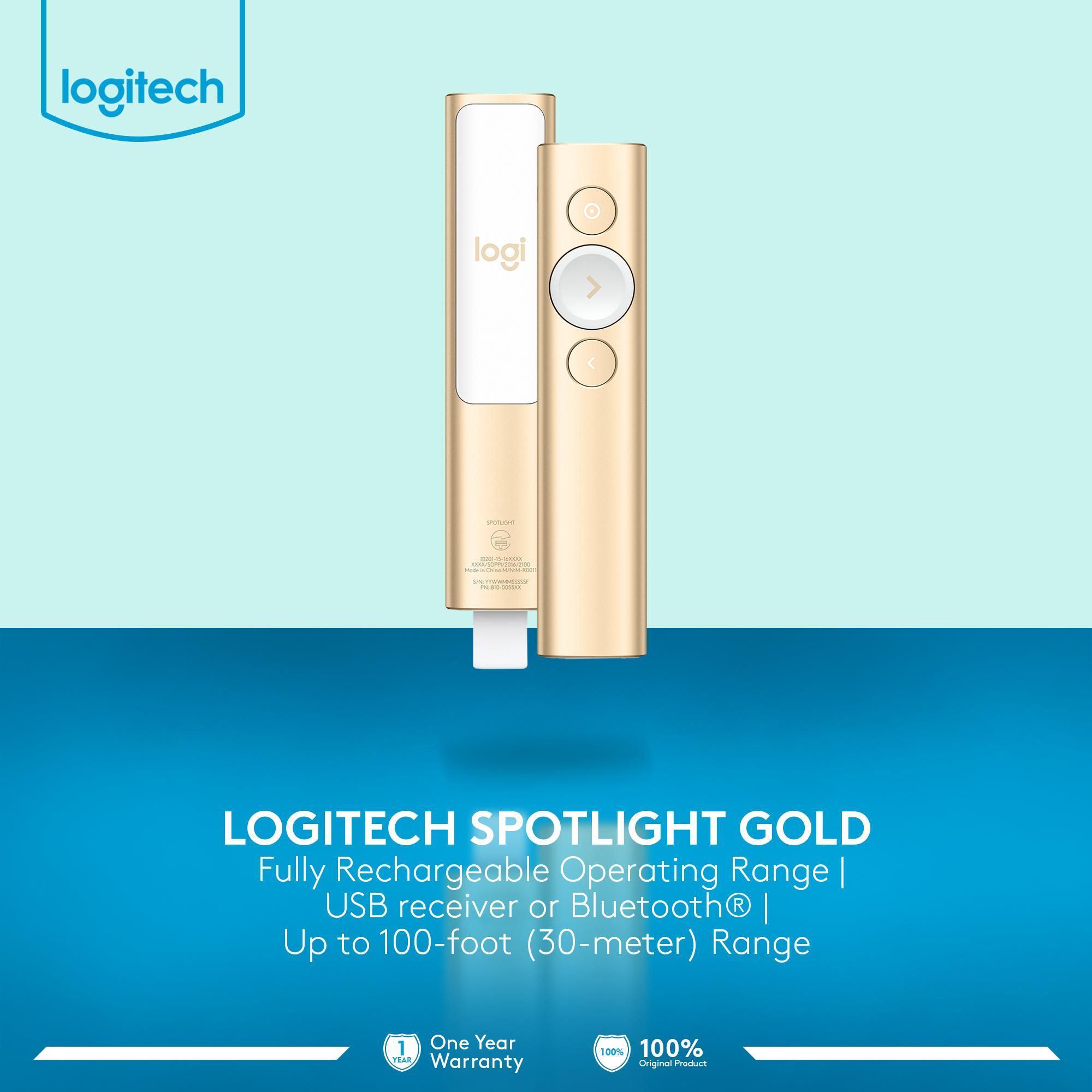 Kelebihan Logitech Spotlight Alat Presentasi Remote Wireless Laser Pointer Pp1000 Presenter Pp 1000 1 Penilaian Gold