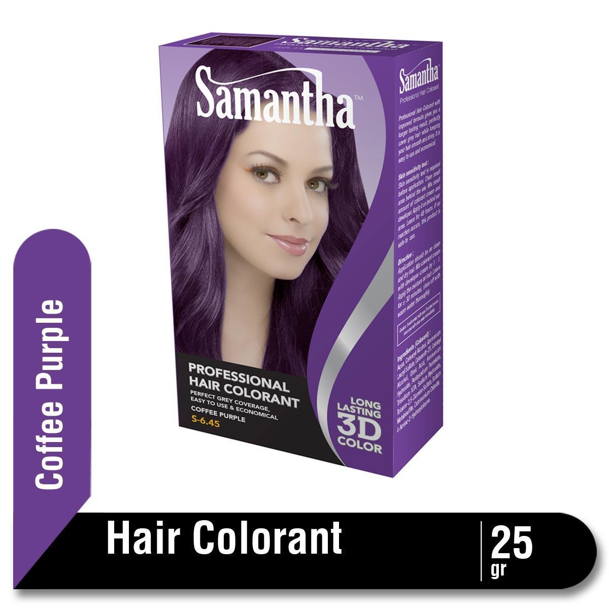Samantha Professional Hair Colorant Coffe Purple 25gr