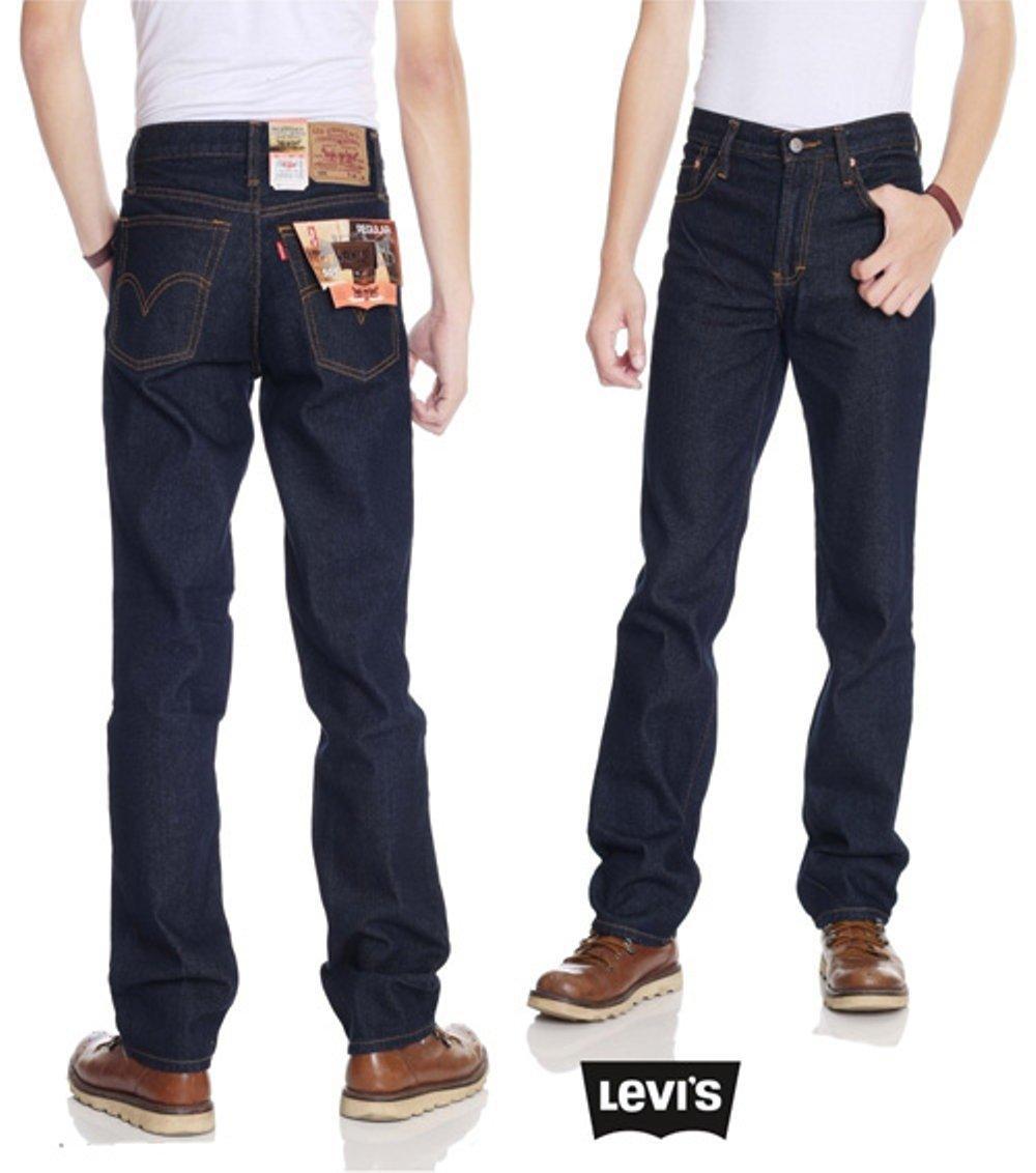 celana terbaru standar biru jeans bahan bagus jahitan rapi harga murah