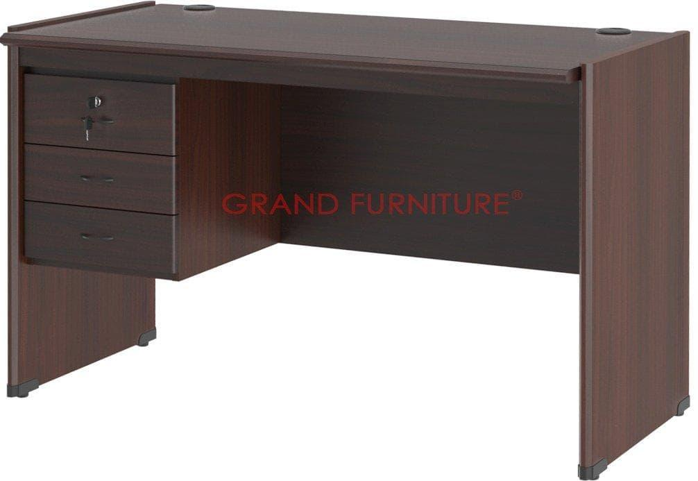 GRAND FURNITURE Dynamic Meja Tulis 1/2 Biro + Kotak Laci DC MT 502 A
