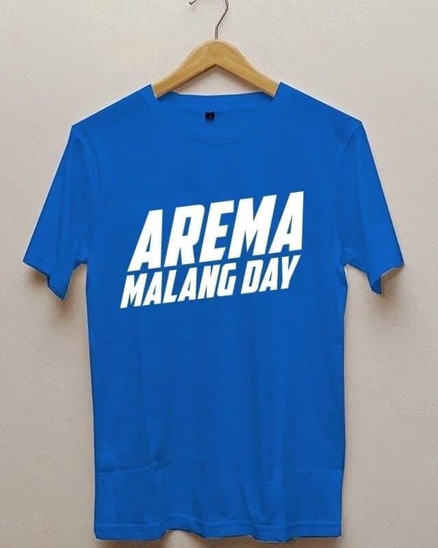 Kaos Tshirt Baju Combed 30S Distro Arema Malang Day Jersey Futsal