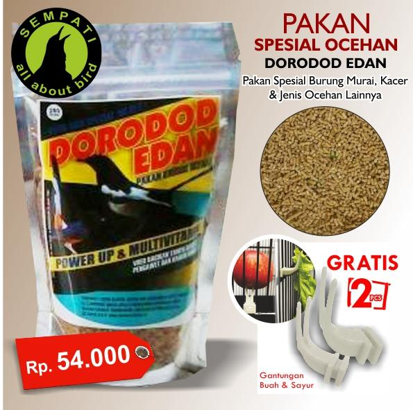 Pakan burung murai kacer ocehan power up & multivitamin dorodod edan