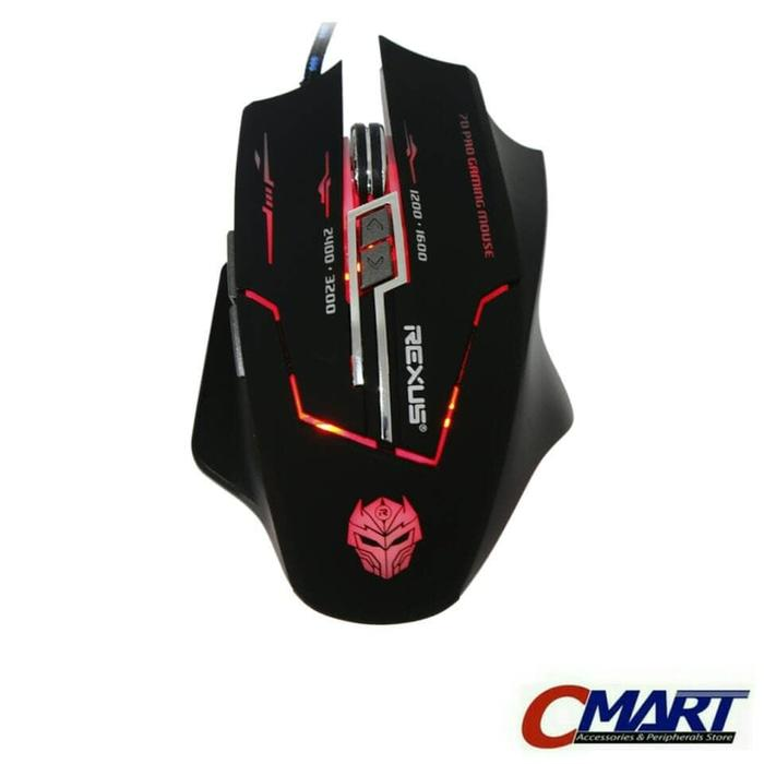 Rexus RXM-X3 3200dpi Elite Sensor 7D Button Gaming Mouse