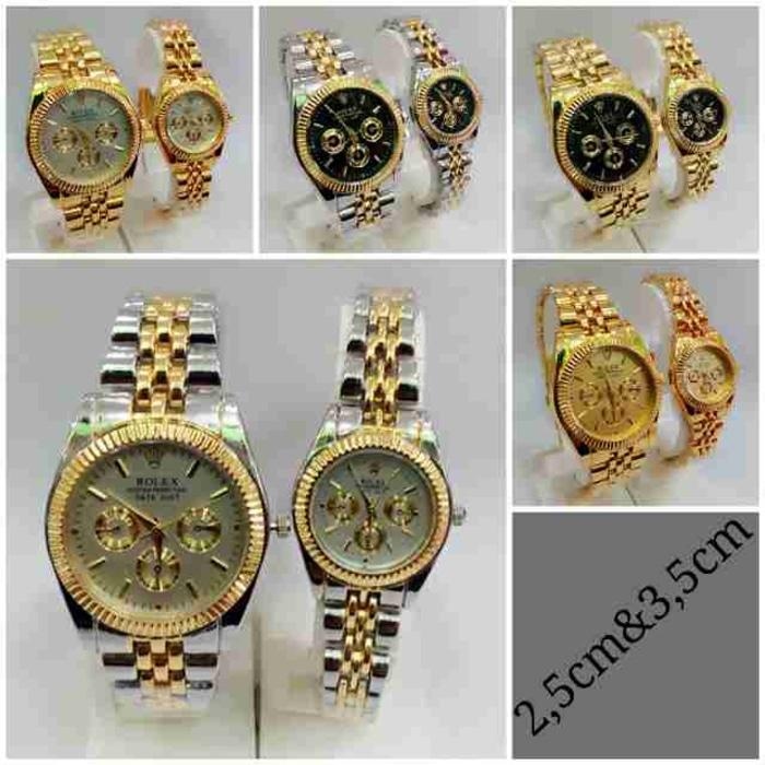 Jam Tangan Rolex Oyster Couple