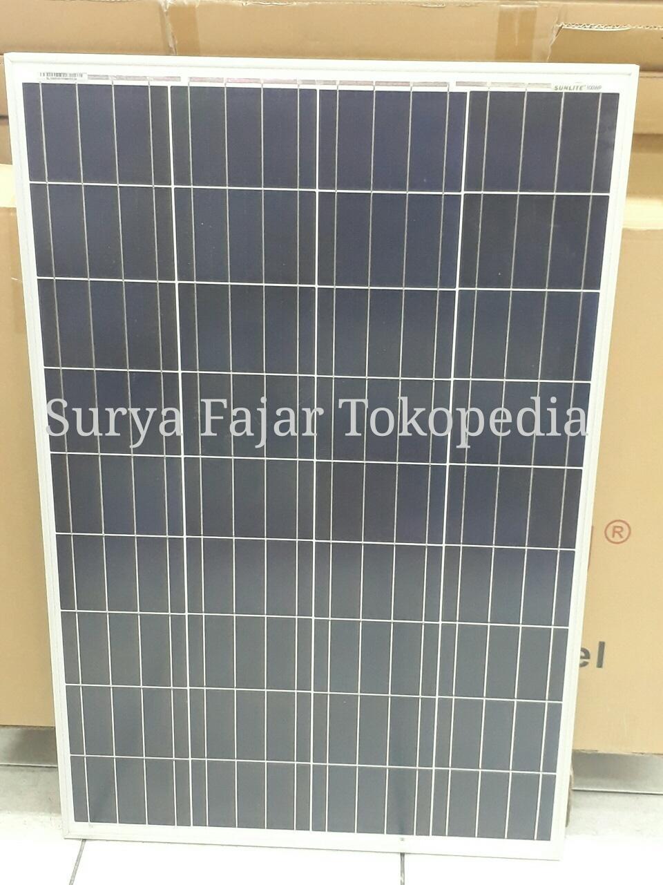 HARGA PROMO Solar Panel / Solar Cell / Panel Surya Sunlite 100wp Poly