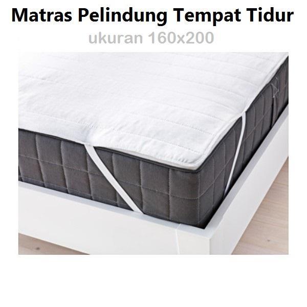 [160x200] IKEA Pelindung Kasur Matras Mattress Cover Protector Single 160 x 200 cm
