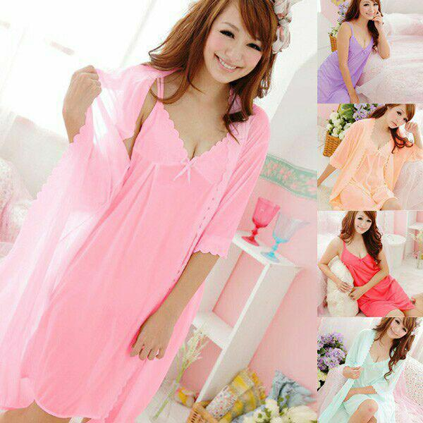 Theclover Kimono tricot dress 2in1 import