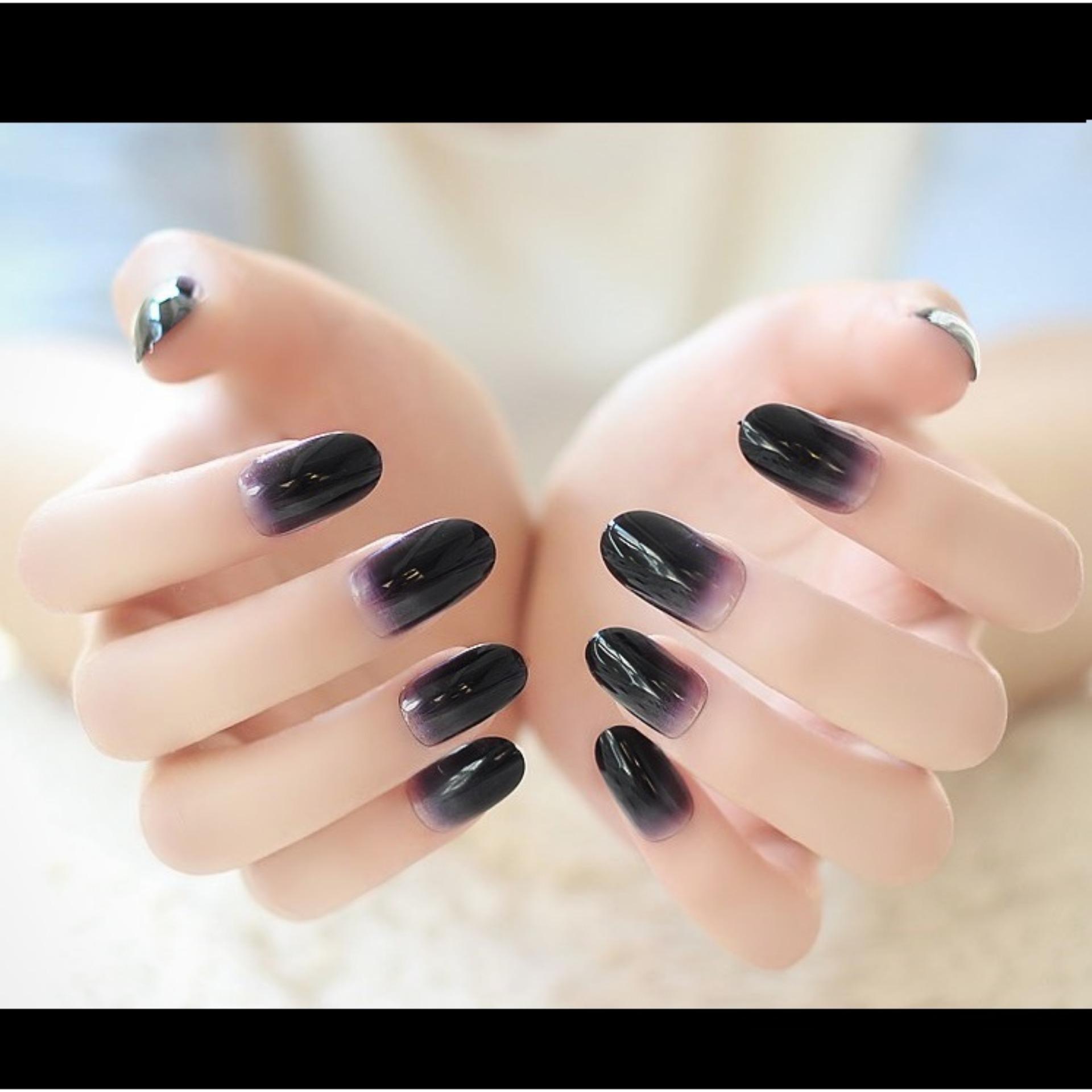 Fitur Jbs Nails Kuku Palsu Pengantin 3d A65 Dan Harga Terbaru Wedding Fake Nail Art Simple A13 Pernikahan Black A5