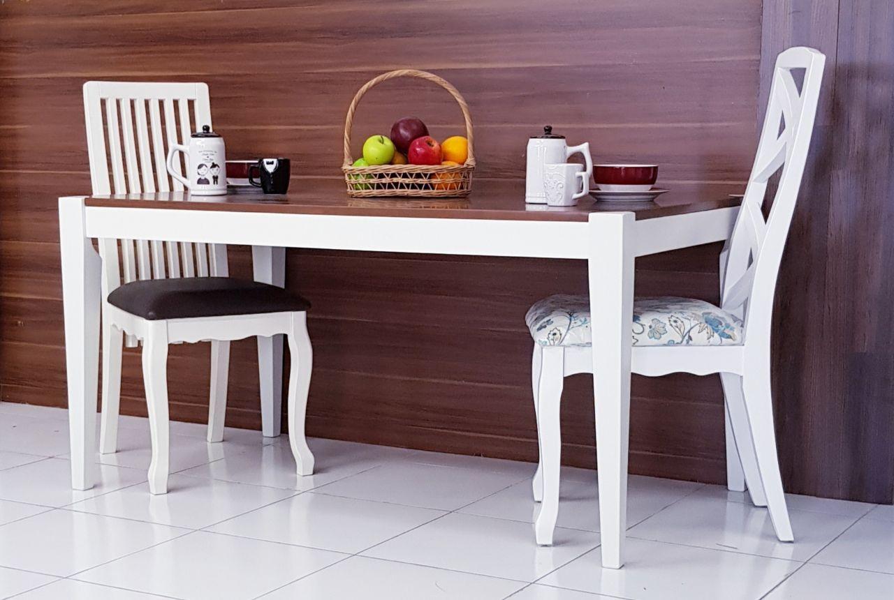 Dove's Furniture Meja Makan Minimalis persegi uk 140