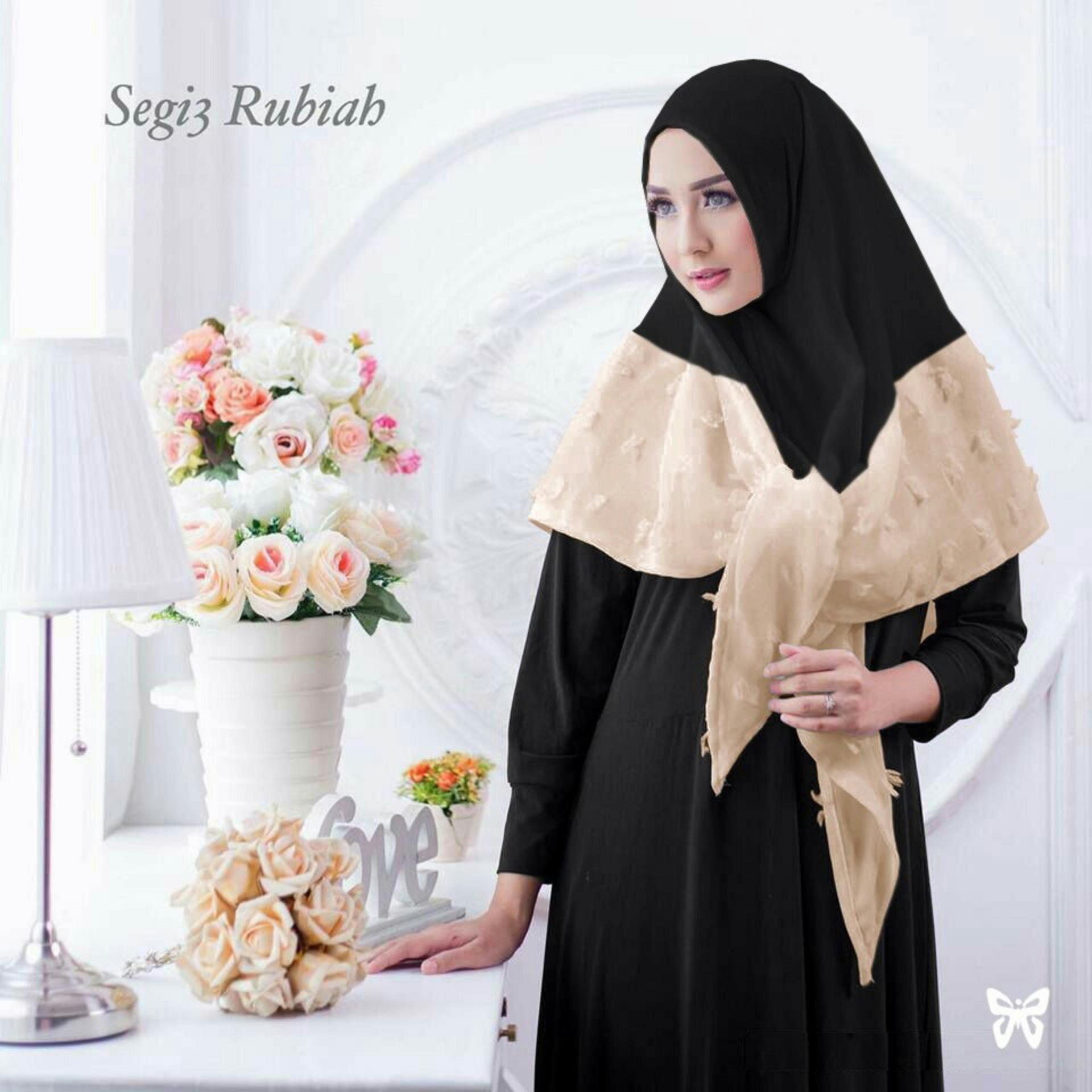 Pakaian Muslim / Baju Muslim Murah Syari Hijab / GamisZafana Peach. Source .