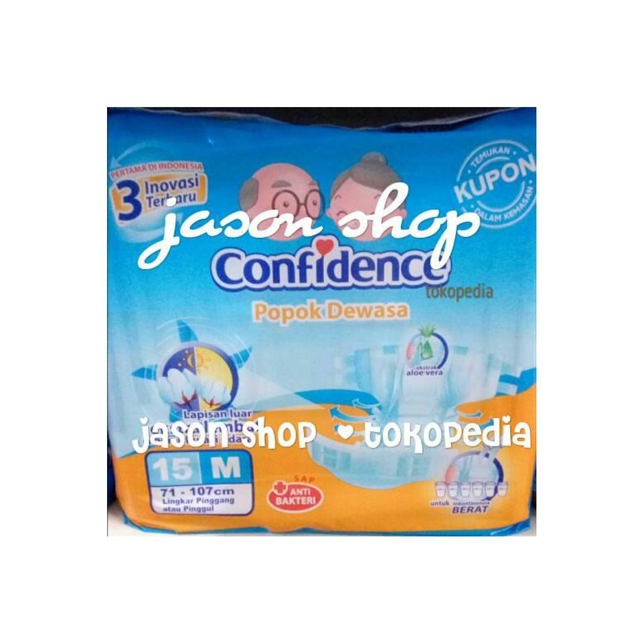 Pampers dewasa/Popok dewasa, orang tua Confidence uk.M15/L15 pcs
