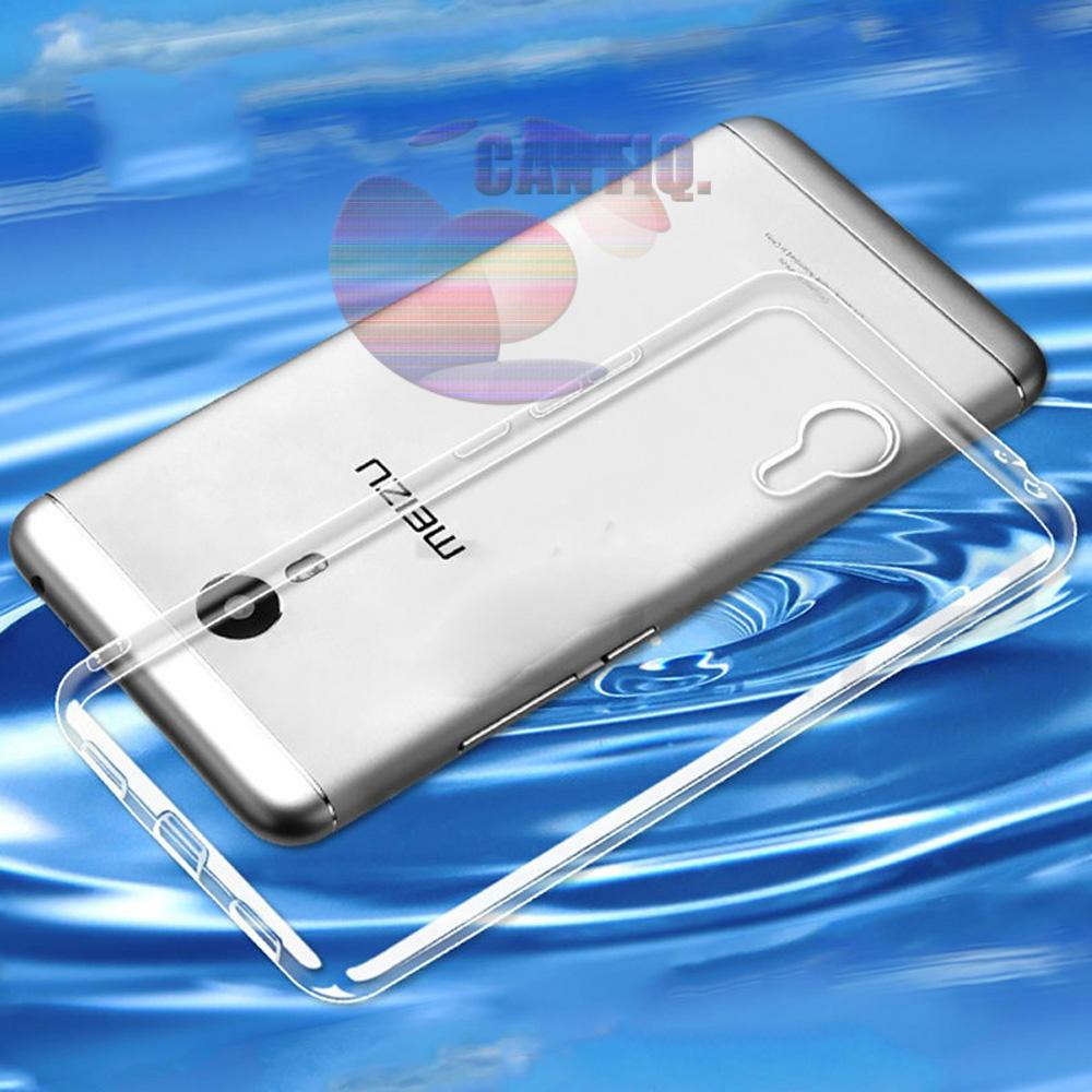 Icantiq Ultrathin Case Meizu M2 Note Luxury Softcase Anti Jamur Air Case 0.3mm / Silicone Meizu M2 Note Soft Case / Silikon / Case Hp / Jelly Case / Softshell - Transparant