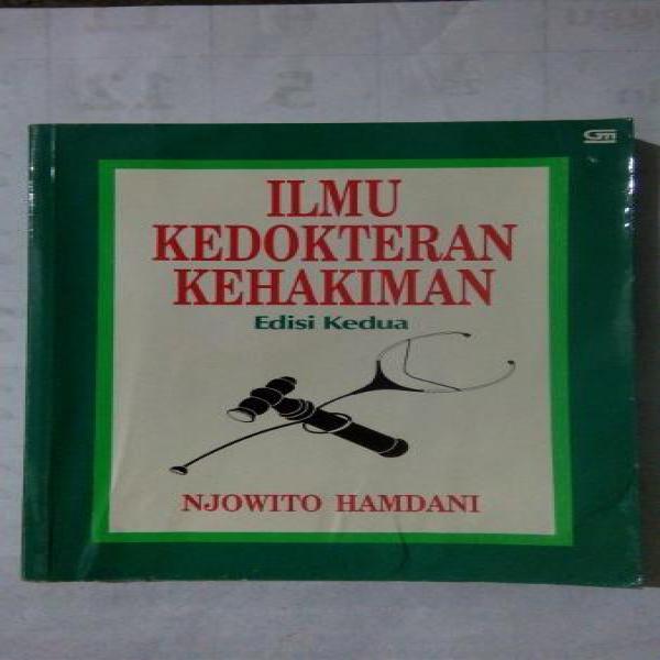 Original bekas ILMU KEDOKTERAN KEHAKIMAN Edisi Kedua