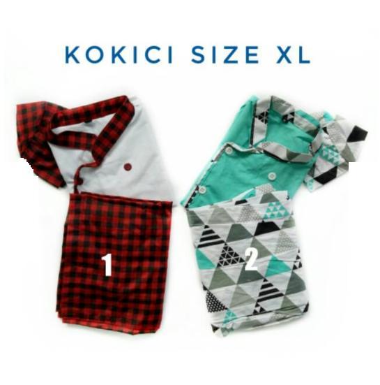 Gambar Produk Rinci Kokici Koko Anak Sarung Celana Peci Model Koki Terkini