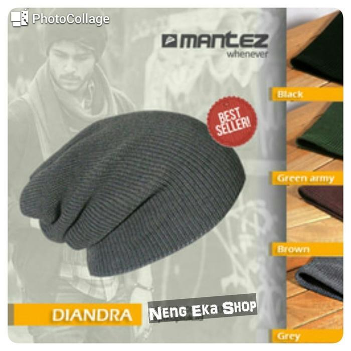 Topi Kupluk Rajut / Gaya Korea / Distro Bandung Beanie Hat / Diandra Terlaris di Lazada