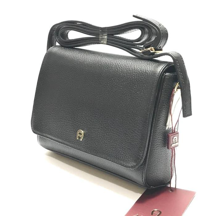 TAS AIGNER ORIGINAL - AIGNER CROSSBODY BLACK