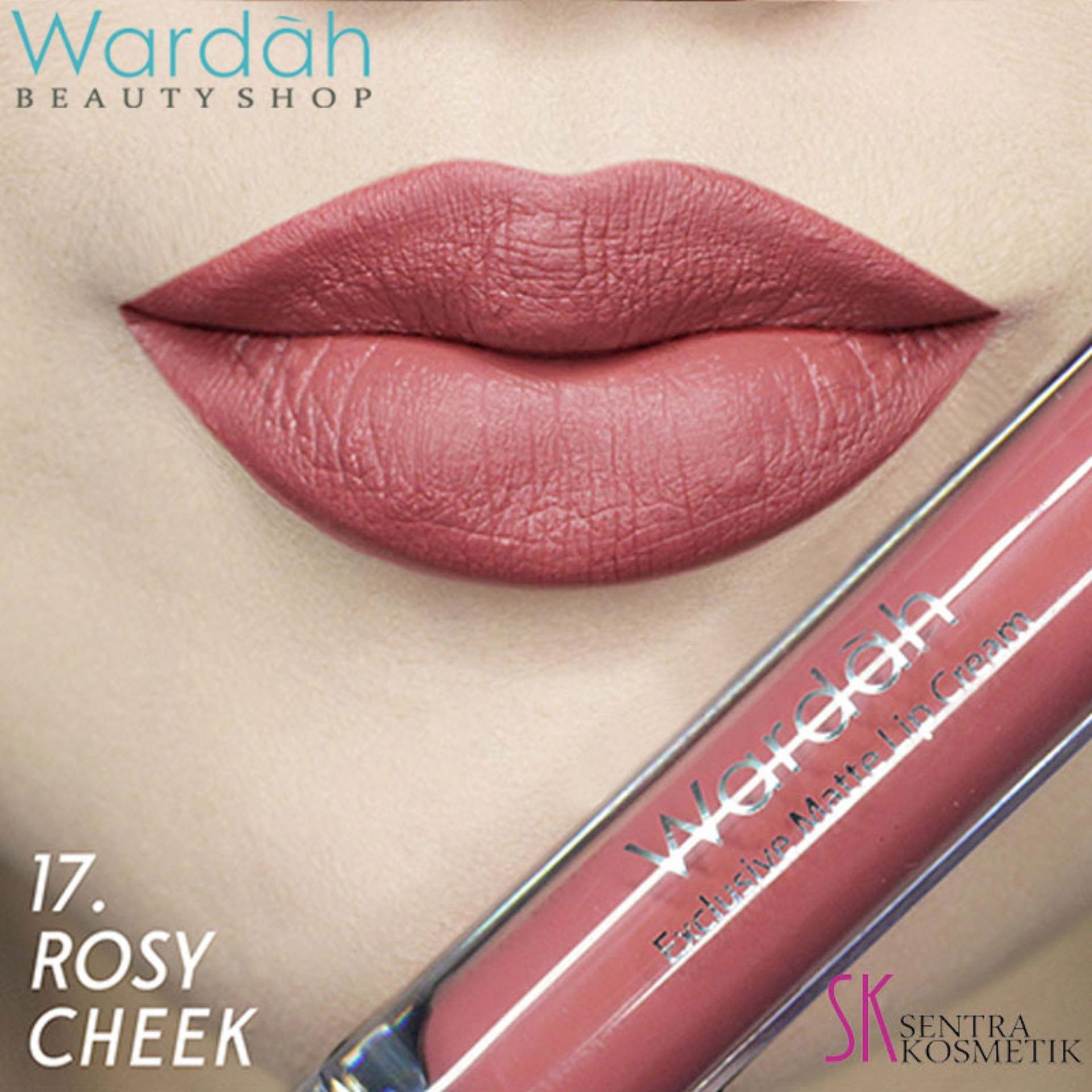 Wardah Exclusive MATTE LIP CREAM 17 - Rosy Cheek