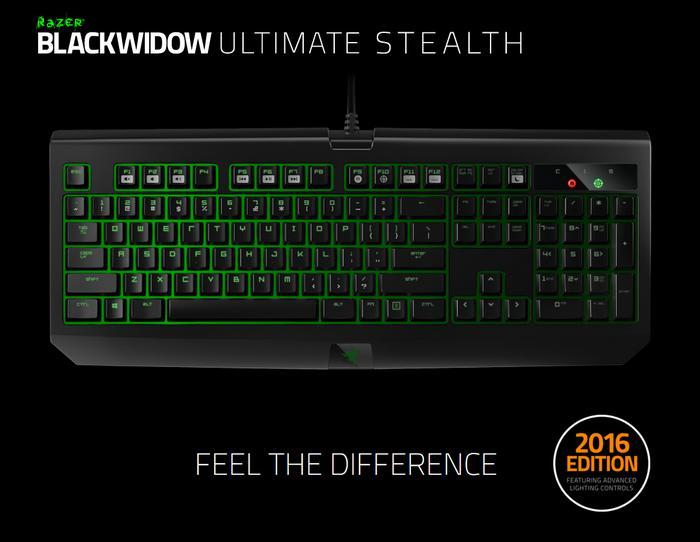 BEST SELLER - Keyboard Razer Blackwidow Ultimate Stealth 2016