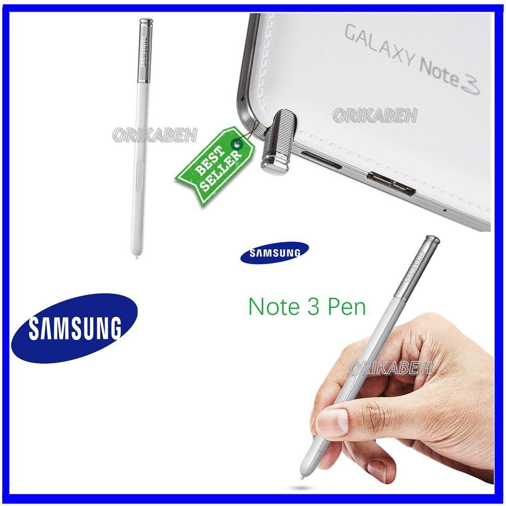 Samsung Galaxy Note 3 / N9000 Stylus S PEN Original 100% - White ( orikabeh )