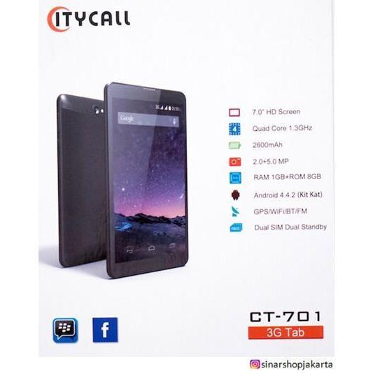 PROMO!! Tablet Citycall CT-701- Dual SIM - 7 Inch