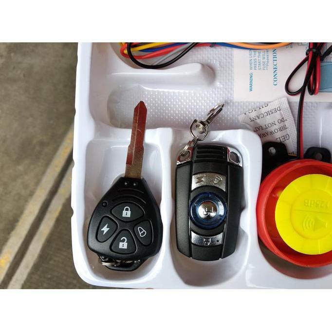 Alarm Motor Bonus Cara Pemasanggan Merk Bht 2 Remote - Motor