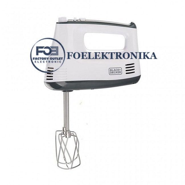 Black & Dacker - Hand Mixer M350 Putih