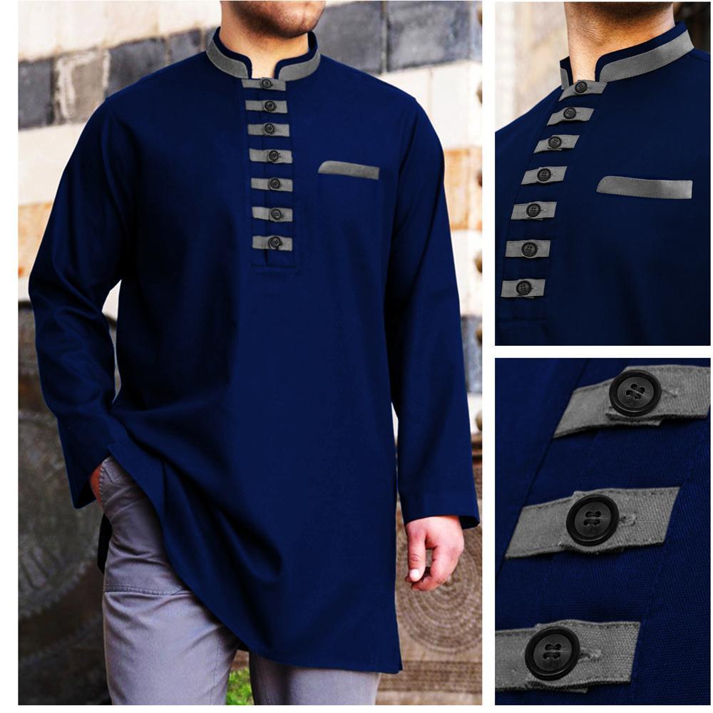 Baju Koko Akhtar Tosca dan Navy Kemeja Muslim Pria Terbaru Brand Factory Oulet Fashion PROMO