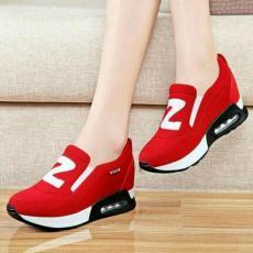 EZELL SHOP Sepatu Kets Boots Slip On Casual Z Merah Murah