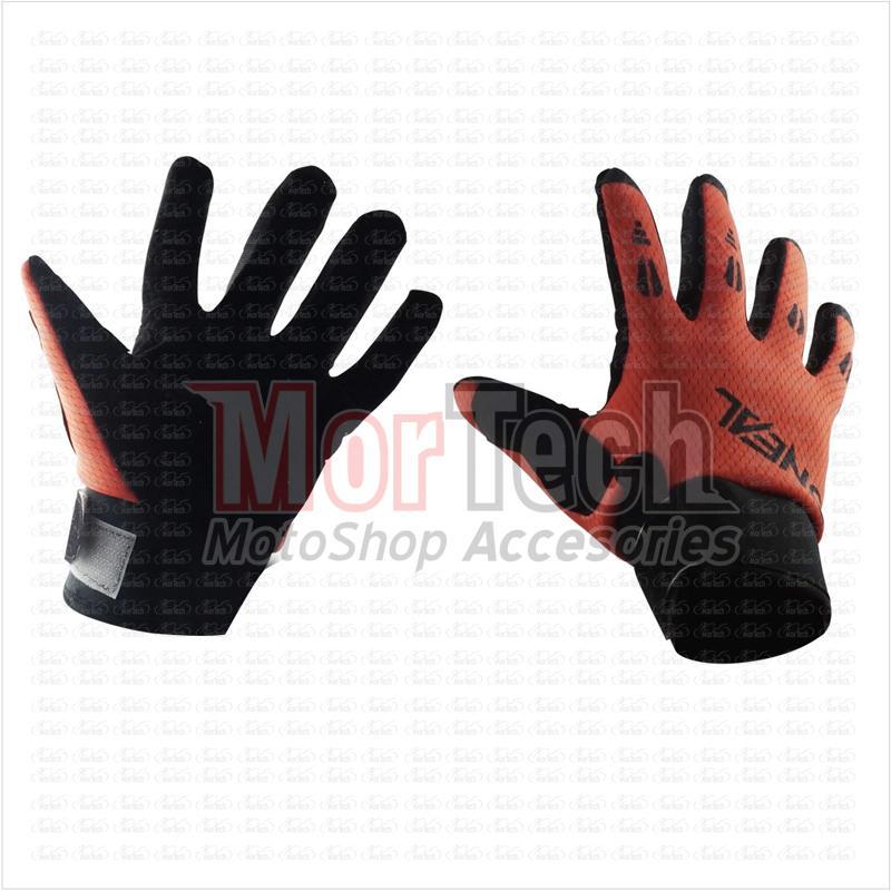 Oneal Sarung Tangan Motor Cross / Trail Full Printing Size L Orange