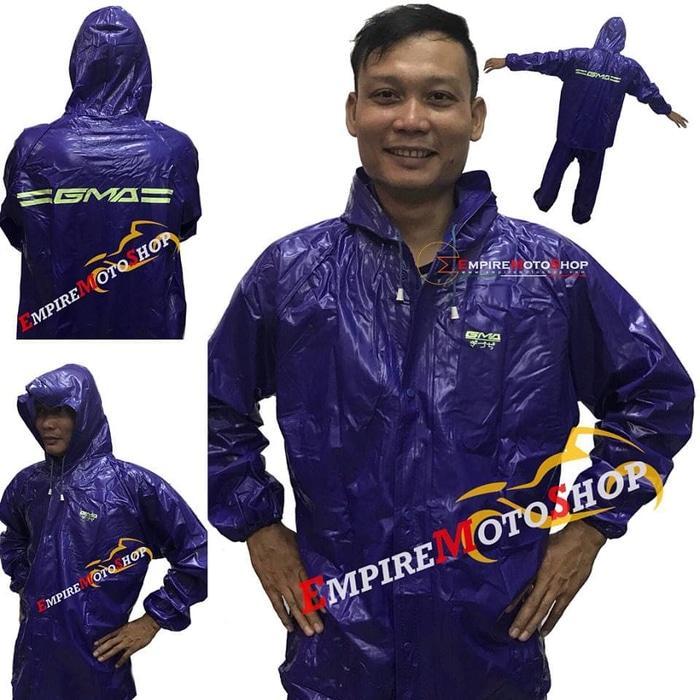 Jas Hujan GMA Karet PVC Raincoat Original