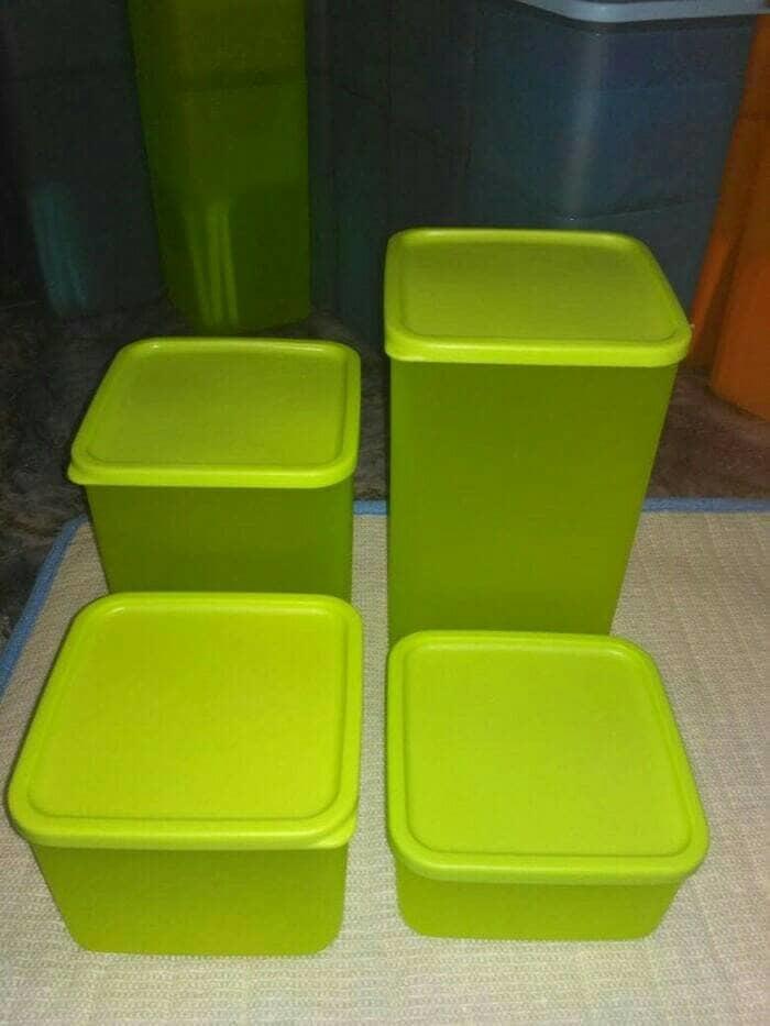 PAKET MURAH Toples lemony Sealware Plastik Kedap Udara 4 PCS -RANDOM -