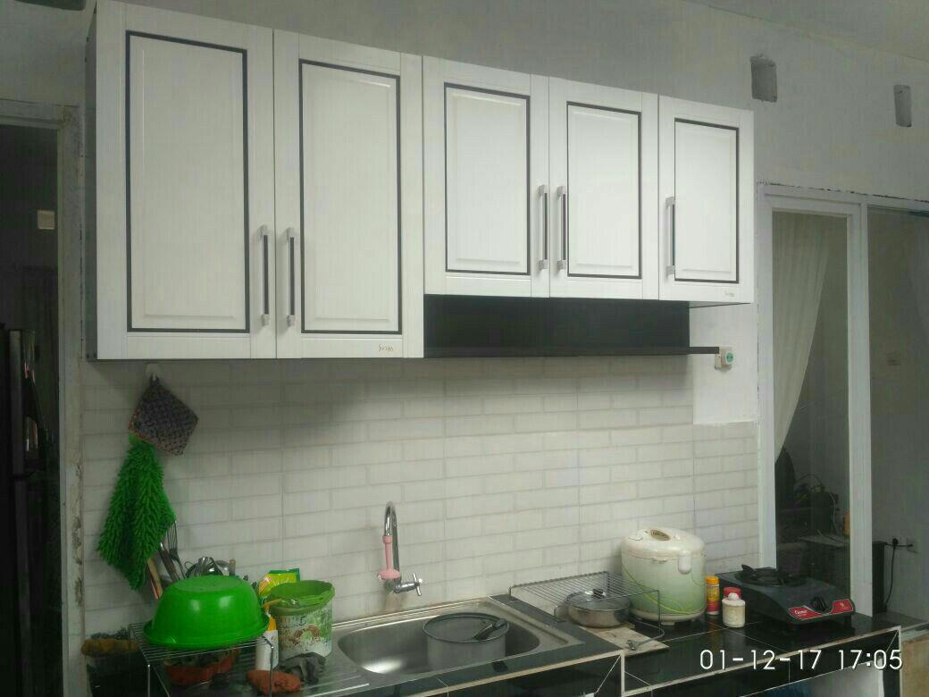 Cek Harga Baru Kitchen Set Lemari Gantung Dapur Minimalis Terkini