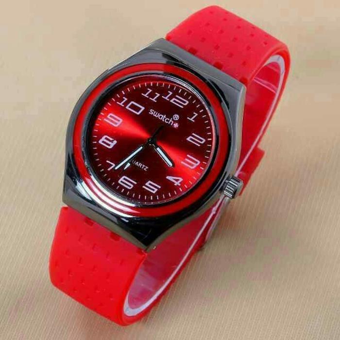 jam tangan swatch ironi / jtr 190 red / Jam tangan wanita / jam tangan model