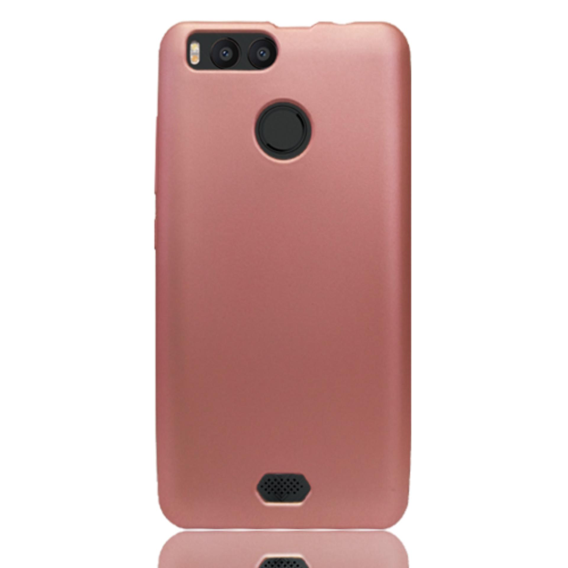 Case softcase Advan vandroid i5C duo rose gold