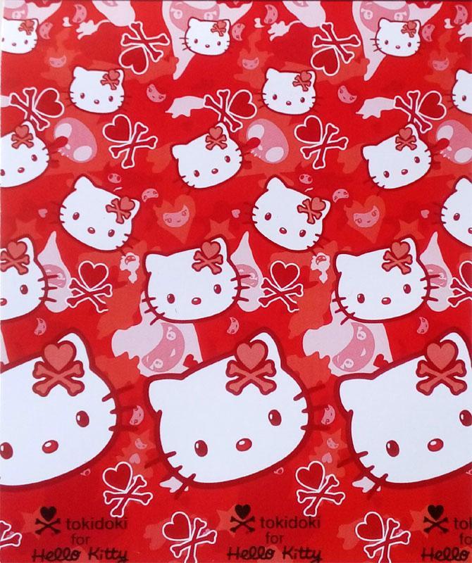 Selimut Lady Rose - Hello Kitty Tokidoki (Selimut Bulu Super Soft)