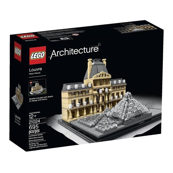 BEST SELLER!!! Lego Architecture 21024 Louvre Building - 6X3ayv