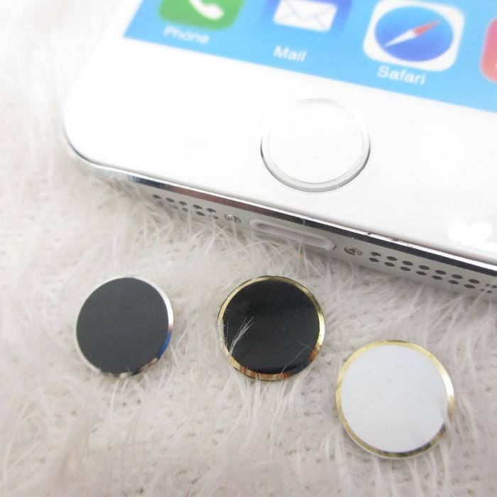 Home Button list Compatible For Iphone Ipad Ipod touch id tombol sticker stiker OEM