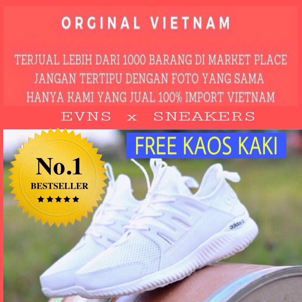 Fitur Promo Sepatu Olahraga Pria Adidas Alphabounce New Bagus Diskon  Sneakers Running Alpha Bounce 4